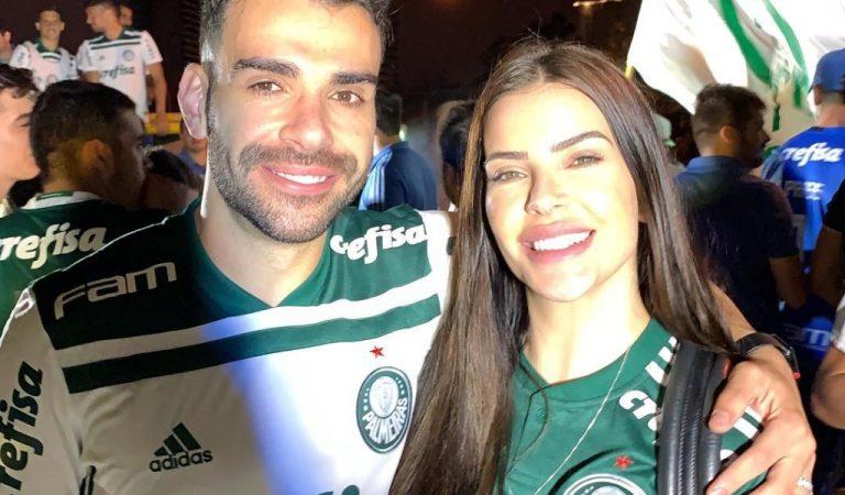 Esposa de jogador é agredida após partida de Palmeiras x Athletico-PR