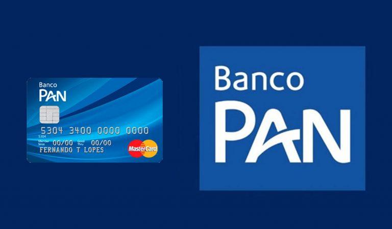 Banco Pan: cartão de crédito para negativados com limite podendo chegar até 2x o salário do contratante