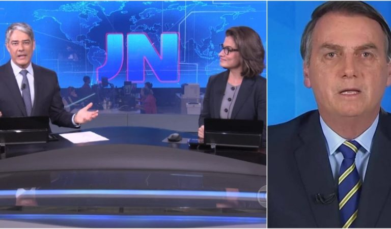 Ao vivo no JN, Bonner e Renata desmente Bolsonaro após pronunciamento e massacra o presidente; Vídeo