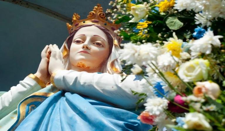 Imagem da Virgem Maria aparece no céu em meio a pandemia do coronavírus é de arrepiar