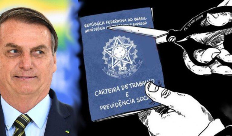 MP de Bolsonaro, permite suspender contrato de trabalho ou cortar até 70% do salário