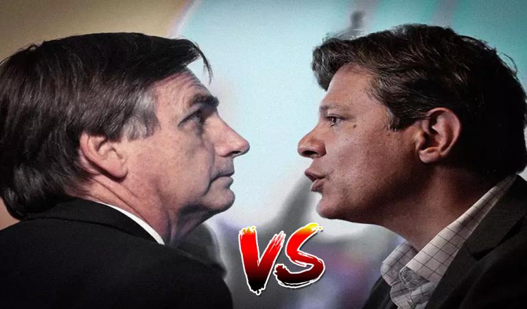 Enquete: Haddad afirma que Bolsonaro não é mais presidente, você concorda? Vote Aqui