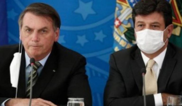 Mandetta luta contra a Covid-19 enquanto Bolsonaro o massacra: 'falta humildade e demito quem quiser'